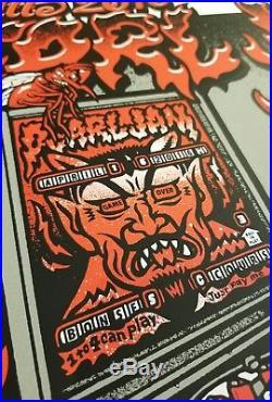 Pearl Jam Greenville, SC 4/16/16 Concert Poster Bon Secours Arena
