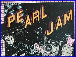 Pearl Jam seattle poster faile the home shows 2018 tour safeco field pj concert