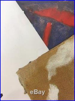 Philip Glass 1981 Satyagraha Stuttgart Music Concert Poster