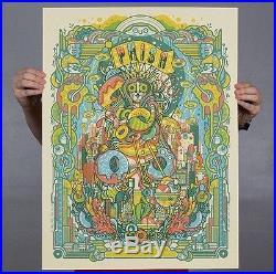Phish Concert Poster Bakers Dozen MSG Print AE of 50 Drew Millward Donut Limited