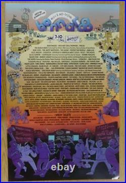 Phish Radiohead Bonnaroo 2012 Music Festival Original Concert Poster