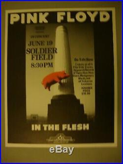 Pink Floyd 1977 Original Concert Poster Chicago