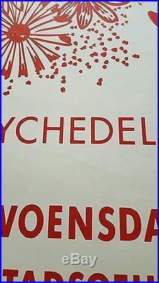 Pink Floyd Original Netherlands concert poster