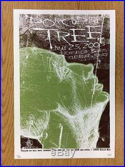 Porcupine Tree Cleveland Ohio 2005 Original Concert Poster Silkscreen