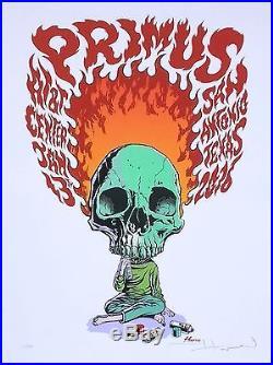 Primus 2016 Concert Poster