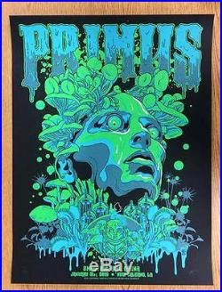 Primus New Orleans 2016 Original Concert Poster Silkscreen Vance Kelly