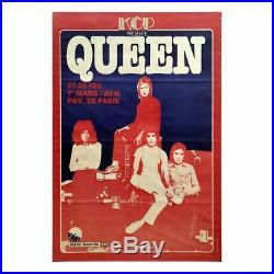 Queen 1979 Pavillon De Paris Concert Poster (France)