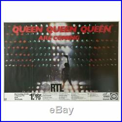 Queen 1982 Sporthalle Koln Concert Poster (Germany)