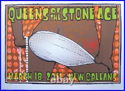 Queens of the Stone Age Concert Poster Lindsey Kuhn