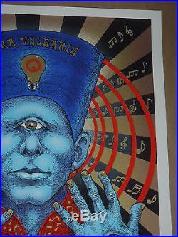 Queens of the Stone Age Emek signed concert poster screen print Berlin QOTSA