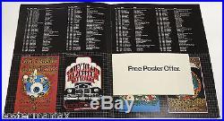 RICK GRIFFIN Jimi Hendrix LED ZEPPELIN Joplin BG Concert Poster Show Program