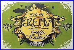 R. E. M. CONCERT POSTER ART Lot of 25 unique tour posters