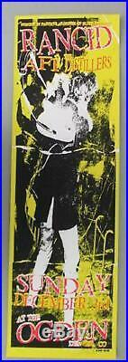 Rancid Afi Distillers Denver 2000 Original Concert Poster Kuhn Silkscreen