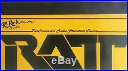 Ratt 1985 Original Vintage Hawaii Concert Poster