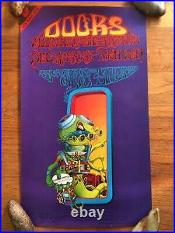 Rick Griffin The Doors Vintage Original Concert Poster 1967 Family Dog Minty