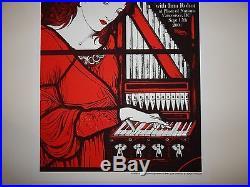 Rob Jones White Stripes Vancouver 2003 concert poster Jack White RARE