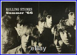Rolling Stones 1966 Concert Tour Poster Original Extremely Rare