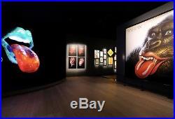 Rolling Stones Caution VERY RARE VINTAGE ORIGINAL 1969 ALTAMONT CONCERT POSTER