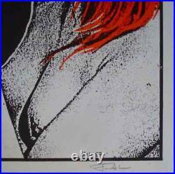 SONIC YOUTH AUSTIN 1987 concert poster FRANK KOZIK Signed 11x17 RARE Mint