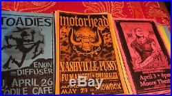 Seattle concert posters-200 in all. 11x17 1999 to 2001 vintage