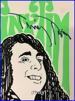 Signed TINY TIM Unplugged Silkscreen Concert Poster Autograph