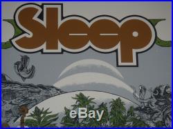 Sleep David D'Andrea Arik Roper 420 Seattle Denver signed concert poster print