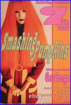 Smashing Pumpkins Concert Poster 1996 Garbage Kozik Phoenix