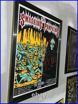 Smashing Pumpkins The Arising Tour Concert Poster Bill 1999 Vintage Original