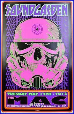 Soundgarden Concert Poster 2013 Printers Proof Frank Kozik