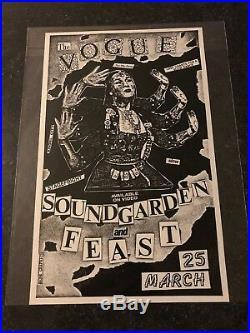Soundgarden Feast Concert Poster Flyer Seattle