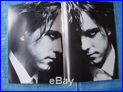 THE CURE 1984 JAPAN TOUR BOOK WithPOSTER Robert Smith CONCERT PROGRAMME EX