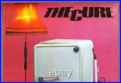 THE CURE mega rare original Hamburg 1980 SEVENTEEN SECONDS concert poster