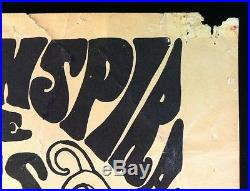 THE DOORS (AOR 2). 195 1967 Original Vintage Concert Poster Whiskey A-Go-Go