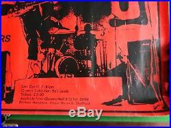 THE JAM Original Concert Poster Queens Hall Leeds 11th Dec 1979. Offers