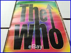 THE WHO rare 2004 tour Honolulu Hawaii Blaisdell Concert Poster Townshend