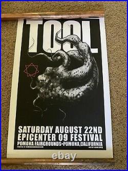 TOOL Band Concert Poster 2009 Adam Jones Art Pomona CA 156/500