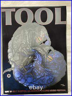 TOOL Concert Poster Print 5/28/17 Boston Calling Music Festival! Only 500
