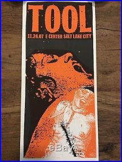 TOOL Concert Poster Salt Lake City, A PERFECT CIRCLE by Print Mafia