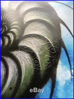 TOOL band Silkscreen Concert Poster San Bernardino 6/24/2017 Adi Granov RARE