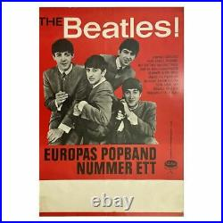 The Beatles 1963 Swedish Concert Poster (Sweden)