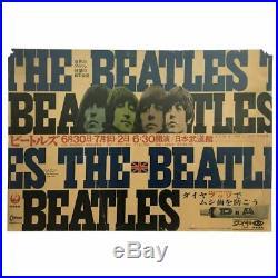 The Beatles 1966 Tokyo Japan Concert Poster (Japan)