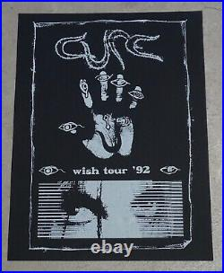 The Cure 1992 Original Wish Tour 92 Concert Poster 11 x 16 inches