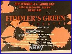 The Cure Prayer Tour Original Concert Poster Greenwood Village Colorado 1989