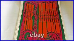 The Doors 1967 Original Concert Poster At Saladin Head Shop, Offset Lithograph