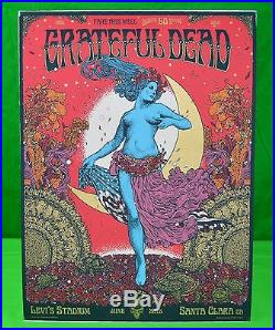The Grateful Dead 50th Anniversary Concert Poster FIELD MAIDEN Dead And Company