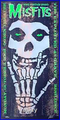 The Misfits Concert Poster 2005 Lindsey Kuhn