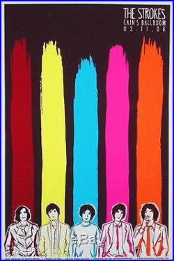 The Strokes Tulsa 2006 Concert Poster Ap Proof Slater Silkscreen Original