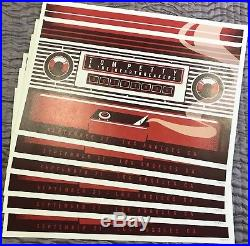 Tom Petty 40th Tour Finale Concert Poster -09/21/17- Los Angeles-hollywood Bowl