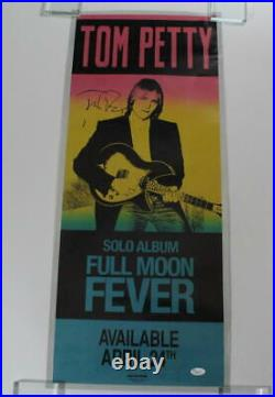 Tom Petty Signed Autograph Concert Tour Poster And The Heartbreakers, Rare Jsa