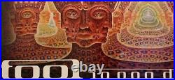 TooL concert poster 10,000 days Oakland 2006 HUGE size
